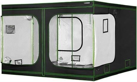 "VIVOSUN 96""x96""x80"" Hydroponic Grow Tent for Indoor Plant Growing 8'x8' - AM-N"