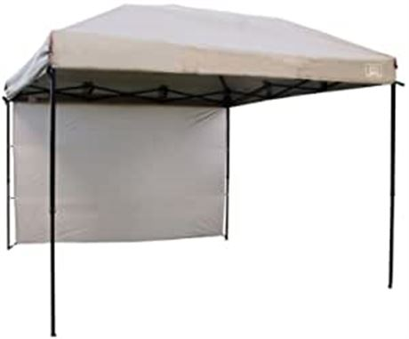 Ventura 10ft x 10ft Straight Wall Gazebo, Natural - W2-N (PICKUP-ONLY)